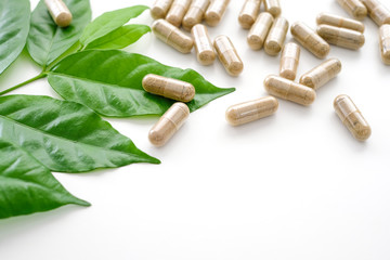 Herb capsule, Nutritional Supplement