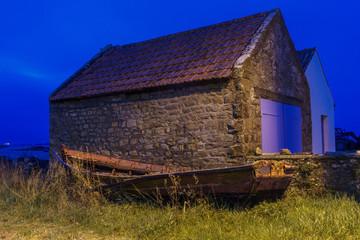 Küste in der Bretagne Carnac / Cote sauvage / Frankreich