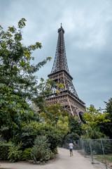 Views of eiffel tower