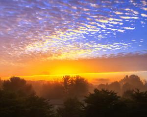 Tennessee Foggy Sunrise