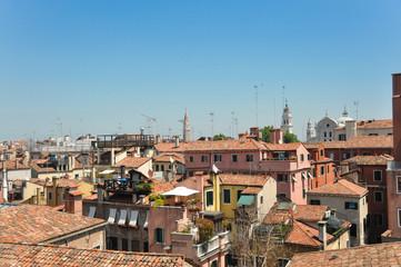 Deurstickers Turkije Cityscape of Venice