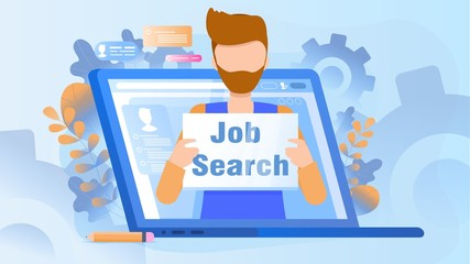 The concept of a job search candidate.