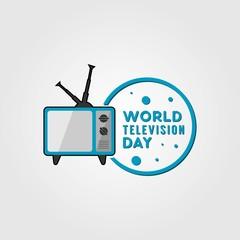 World Television Day Design