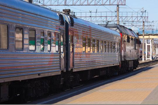 arrival of a civilian train
