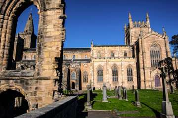 Beautiful abbey in Fife, Scotland.
