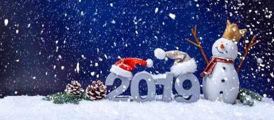 Silvester Karte 2019 Weihnachten