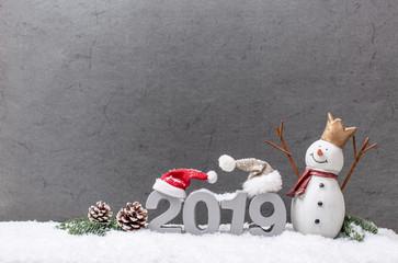 christmas card und silvester karte 2019