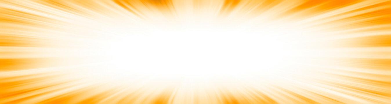 Yellow starburst explosion border frame
