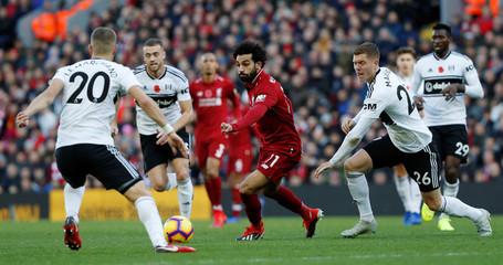 Premier League - Liverpool v Fulham