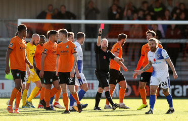 FA Cup First Round - Barnet v Bristol Rovers