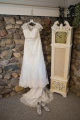 wedding dress girl lady elegant high end luxury gown