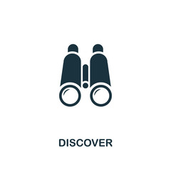 Discover icon. Premium style design from startup icon collection. UI and UX. Pixel perfect Discover icon for web design, apps, software, print usage.