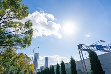 大阪 千里中央周辺都市景観