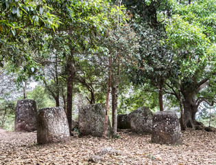 Plain of Jars of Phonsavan..