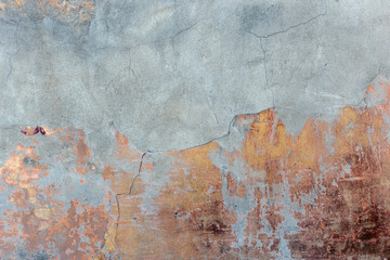Old grunge concrete wall background or texture Wall mural