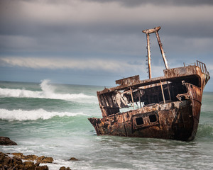 Shipwrecked in the indian atlantic