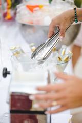 Préparation de cocktail