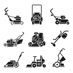 Riding Lawn Mower Vector Photos Royalty Free Images Graphics Vectors Videos Adobe Stock