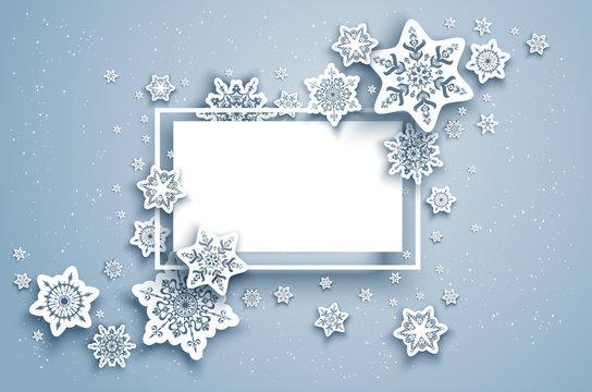 Seasonal winter frame