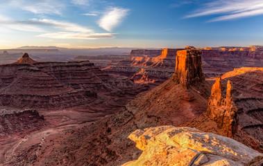 Marlboro Point and Shafer Canyon Sunrise