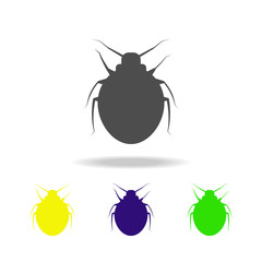 beetle multicolored icon. Elements of insect multicolored icon. Signs and symbol collection icon can be used for web, logo, mobile app, UI, UX