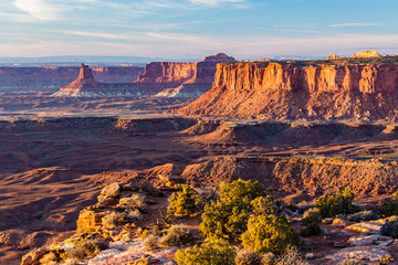 Golden Hour from Canyonlands Grand Viewpoint