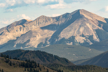 Whetstone Mountain near Crested Butte in Colorado Rockies