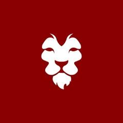 animal lion vector icon logo