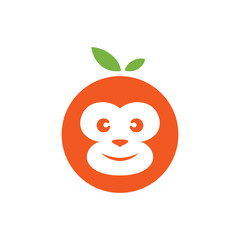 Monkey orange logo