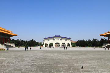 Front gate of Chiang Kai Shek  memorial hall