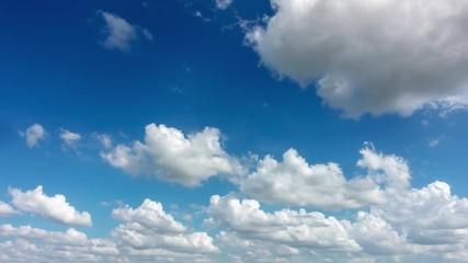 Wall Mural - 4k timelapse sky cloud