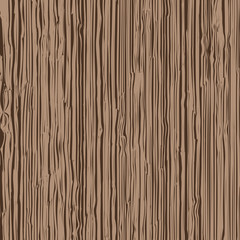 Vector wooden texture on dark brown background, illustration
