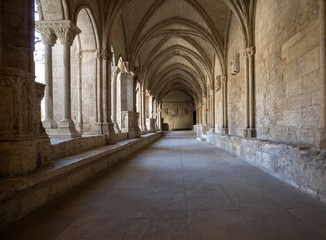 Romanesque Cloisters Church of Saint Trophime Cathedral in Arles. Provence,  France