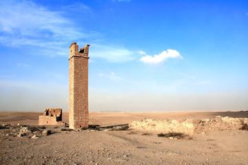 Watch tower near the Umm ar-Rasas, Jordan