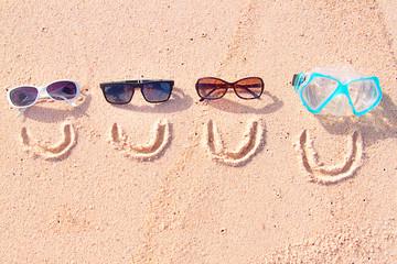 Fototapeta Smiling family on holidays obraz