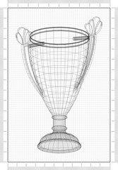 Trophy Design Architect Blueprint