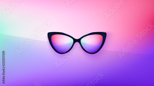 Sunglasses Wallpaper Trendy Colors Fashion Background Summer