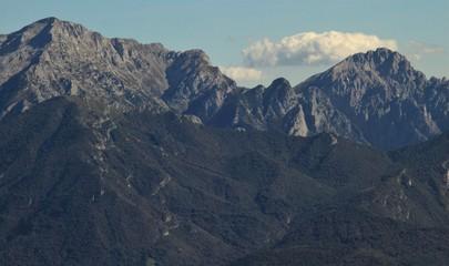 Gipfel des Grigna-Massivs am Comer See