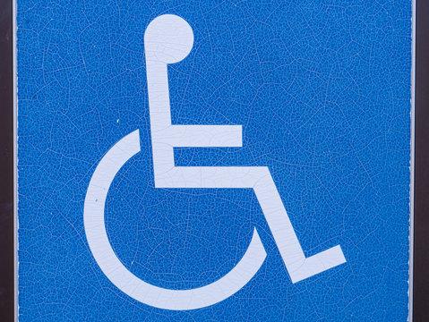 wheelchair mark in Japan