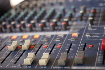 Mixer is a sound control device.