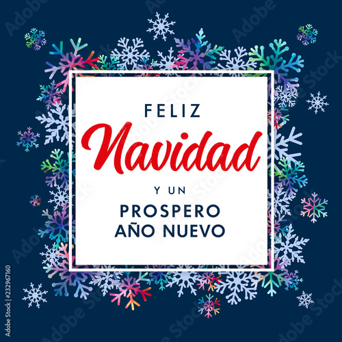 feliz navidad spanish text prospero ano nuevo translate merry christmas and happy new