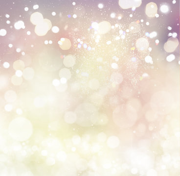 silver and pink christmas and new years snowflakes textured background