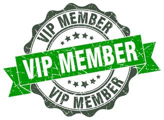 vip member stamp. sign. seal