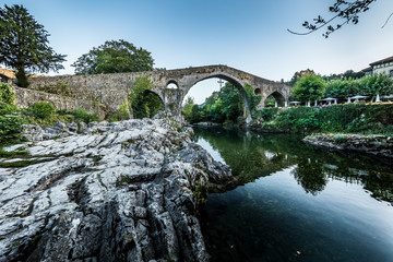 Known as the Roman Bridge of Cangas, this is one of the best-known symbols of Asturias