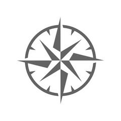 Simple Wind Rose Symbol