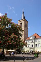 Marktplatz, Wenigemarkt, Erfurt, Ägidienkirche