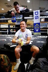 Josh Warrington & Carl Frampton media work-outs