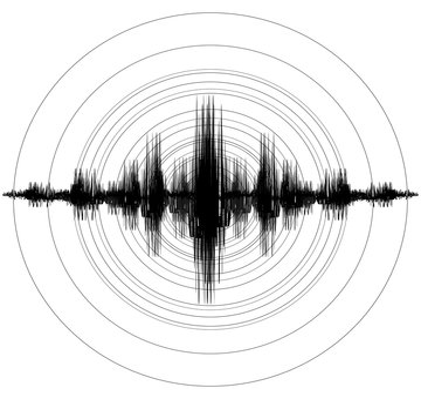 Earthquake. Richter Earthquake Magnitude Scale. Vector illustration