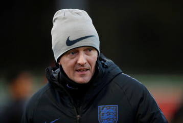 England Under 21 Training