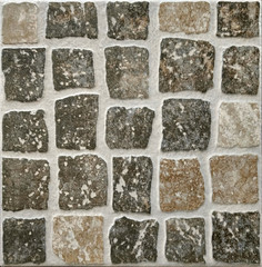 Exterior paving tile as background